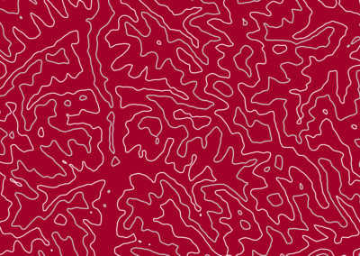 Topo #16 - Deep Red